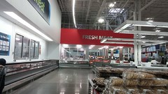 Service Alley, towards the Fresh Island (Retail Retell) Tags: sams club southaven ms desoto county retail membership warehouse store remodel