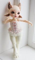 Realfee corset - (~Akara~) Tags: bjd ball jointed doll fairyland fairy land fl realfee real fee rlf corset handmade etsy shop store sewing clothing clothes lace cute