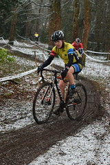 DSC_0073 (sdwilliams) Tags: cycling cyclocross cx misterton lutterworth leicestershire snow