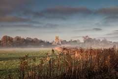 Wiveton Church in Early Morning. (andybam1955) Tags: sky northnorfolk landscape wivetonchurch norfolk clouds
