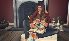 *It's very important to always read a bedtime story, else how would your dreams know where to begin*❤ (Ⓐⓝⓖⓔⓛ (Angeleyes Roxley)) Tags: cozy story time book miffy kids toddleedoo avatar posed poses ultra event sl secondlife