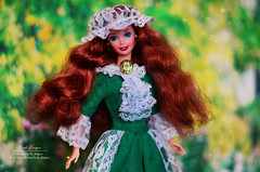 Irish Barbie Mattel (Lindi Dragon) Tags: doll barbie mattel ireland irish 1995 superstar