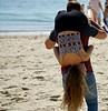 BottomsUp (Hodd1350) Tags: dorset beach sand sea upsidedown bottom couple man male woman female hairdown sony sonyfe70300 sonylens a7rll