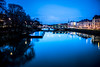 City reflection (Maria Eklind) Tags: bluehour bridge street water spegling city rörsjökanalen dusk canal kaptensbron malmö bro sky twilight blue kanal reflection building södraförstadskanalen sweden streetsofmalmö skånelän sverige se