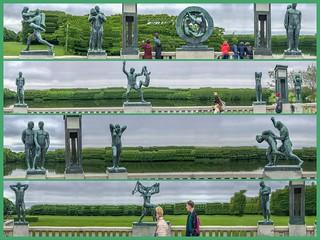 Frogner Park Sculptures - Oslo Norway 3June2017 1