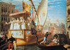 John Rogers Herbert: The brides of Venice being taken to the wedding (Festa delle Marie - Feast of Marys) (_Furetto_) Tags: 1500 puzzle venezia venice marie marys brides johnrogersherbert herbert hugin educa painting