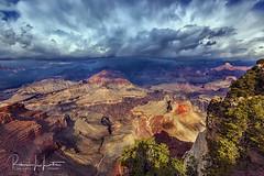 Grand Canyon Storm Clouds (rebeccalatsonphotography) Tags: canyon landscape wideangle np nationalpark grandcanyon az arizona clouds dramatic canon rebeccalatsonphotography autumn 5d mkii 1635mm