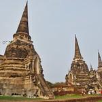 Wat Phra Si Sanphet in Ayutthaya, Thailand thumbnail