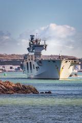 Farewell HMS Ocean [In Explore 11/2/2018] (Rich Walker75) Tags: royal navy hms ocean ship ships plymouth plymouthsound devon england history historic naval warship warships eos100d canon efs1585mmisusm eos