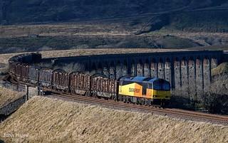 60096 at Ribblehead on 09 Feb 18.