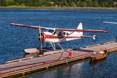 A Treasured Classic - DHC-2 Beaver (MIKOFOX ⌘ Thanks 4 Your Faves!) Tags: canada dehavillandcanadadhc2beaver plane dock boat floatplane xt2 water learnfromexif july landscape provia fujifilmxt2 mikofox showyourexif xf18135mmf3556rlmoiswr inexplore xplored