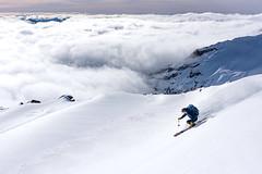 _JAS4543 (Jason Hummel Photography) Tags: mountrainiernationalpark mountrainier rainier skiing backcountryskiing muirsnowfields campmuir snow mountain volcano jasonhummelphotography joshhummel