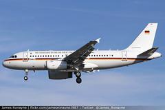 15+02 | Airbus A319-133CJ | Luftwaffe (james.ronayne) Tags: 1502 | airbus a319133cj luftwaffe