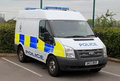 Cheshire Police Ford Transit Station Van (PFB-999) Tags: cheshire police constabulary ford transit station cell cage van vehicle unit lightbar grilles leds dk13bkd