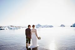 Martine & Sylvain (LalliSig) Tags: wedding photographer iceland summer june portrait portraiture people jökulsárlón glacier lagoon