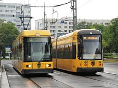 Dresden, Dr-Külz-Ring 26.09.2014 (The STB) Tags: tram tramway strassenbahn strasenbahn streetcar dresden dresde publictransport öpnv citytransport tranvía