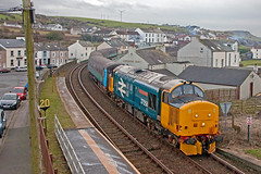 Afterthought (Richie B.) Tags: 2c41 arriva northern trains harrington cumbria drs direct rail services british english electric class 37 37424