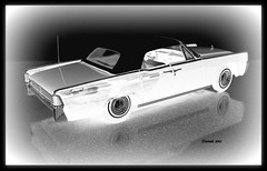 1961 Lincoln Continental 4dr Convertible Sedan (JCarnutz) Tags: 124scale diecast franklinmint 1961 lincoln continental