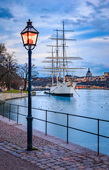 _MG_2996 - Stockholm typical (AlexDROP) Tags: 2017 stockholm sweden travel city urban canon6d ef241054lis best iconic panoramic skyline famous mustsee picturesque postcard europe color ship bluehour lake