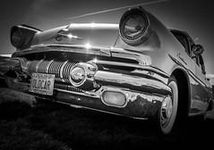 MOTORFEST '17 (Dave GRR) Tags: vehicle auto vintage antique classic american muscle car black white monochrome chrome show motorfest omd em1 1240 olympus