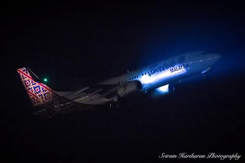 9M-LCP Batik Air Malaysia Boeing 737-8GP(WL)