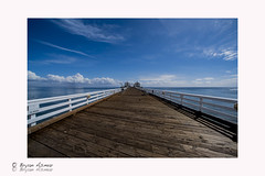 Malibu pier wide angle (Fine Art Print) (bryanasmar) Tags: fujifilm xt2 with speed booster ultra nikon g fx plus 1428d ngc malibu pier fine art print wide angle