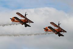 BigginHillFestivalofFlight2017-52 (mcaviationphoto) Tags: bigginhillfestivalofflight londonbigginhillairport 100thanniversaryoflondonbigginhillairport breitlingwingwalkers breitlingsa aerobatic aerobaticteam civilianaerobaticdisplayteam boeingstearmanmodel75 boeingstearmankaydet stearman kaydet stearmanaircraftcorporation theboeingcompany boeing boeingstearman biplane trainer warbird aerosuperbaticsltd rfcrendcombairfield