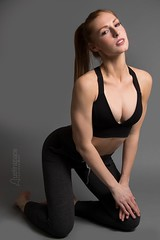 Alex (austinspace) Tags: woman portrait spokane washington model redhead athlete volleyball runner workout clothes