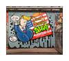 Street Art (PoW), South East London, England. (Joseph O'Malley64) Tags: pow donaldtrump trump presidenttrump uspresident usa