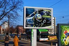 Hanover - Motorcycle sport advertising. (driver Photographer) Tags: 摩托车,皮革,川崎,雅马哈,杜卡迪,本田,艾普瑞利亚,铃木, オートバイ、革、川崎、ヤマハ、ドゥカティ、ホンダ、アプリリア、スズキ、 aprilia cagiva honda kawasaki husqvarna ktm simson suzuki yamaha ducati daytona buell motoguzzi triumph bmw driver motorcycle leathers dainese motorrad
