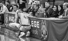 Scores Table (up2high4u) Tags: madison college basketball team sports wolf pack checking scores table blk wht canon 70d tamron 70200mm wisconsin athletics