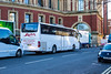 ALBA Mini coaches branded Mercedes Tourismo - BK10 BTG (mangopearuk) Tags: uk ukbus bus buses albaminicoaches mercedes mercedescoach tourismo coach royalalberthall