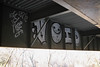 VOID, Klok (NJphotograffer) Tags: graffiti graff new jersey nj bridge beam void crew klok
