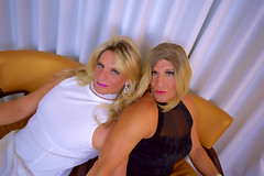 Gurlfriends! Some more pictures with my gurlfriend Brittney Lusty. (Trans-Amee (CD)) Tags: crossdress crossdressing xdress crossdresser sissy sexycd cd sexylingerie sexylegs sexyass gurls tgurl sexyheels transamee brittneylusty