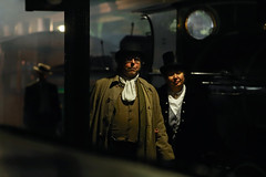 '1882' (AndrewPaul_@Oxford) Tags: bluebell railway horsted keynes station victorian strollers nonsuch steampunk reenactors platform timeline events