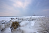 Dutch Arctic (pieter.struiksma) Tags: marken dutch netherlands paardvanmarken markermeer ice frozen lake landscape weather lighthouse
