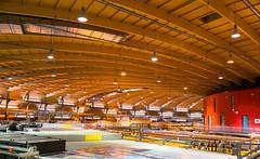 SLS at PSI Wooden Rafters (evenkolder) Tags: villigen aargau switzerland ch psi paulscherrerinstitut particleaccelerator acceleratorphysics accelerator physics