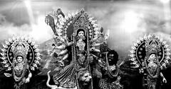Hindu Gods (ainulislam) Tags: god hindu indian bnw blackandwhite black white chennai clickers kaveripattnam tamilnadu mahasivarathri maha shivarathri hinduism culture kaali kollai kali india bharath desi desh barat barath bharat asia asian depth indoor background dhaka dhakagram bangladesh durga puja woman