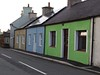 6735 Colourful cottages (Andy - Tak'n a breever) Tags: bbb blue ccc colourful cottage ggg green hhh house newlypainted nnn painted pavement ppp sandcolour sss