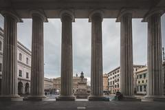 Columns (FButzi) Tags: genova genoa liguria italia italy teatro carlo felice colonnato pronao colonne columns piazza de ferrari