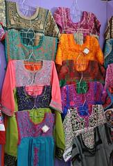 Colorful Mexican Blouses Oaxaca (Teyacapan) Tags: blusas blouses mexican oaxacan embroidered textiles bordados markets