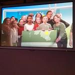 5de leerjaar bezoekt de VRT en maakt een stadswandeling door Brussel.