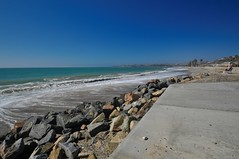 Capistrano Shore (pam's pics-) Tags: ca california pamspics pammorris ocean sea pacificocean pacific coast westcoast water us usa america shore nikond5000 sand stones coastal statepark capistranostatepark capistranocalifornia view