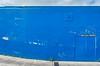 tight spot (dustaway) Tags: wall scrapemarks blue lismore northernrivers nsw australia