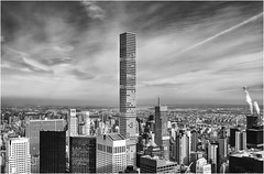 New York (beninfreo) Tags: newyork 432parkavenue tower skyscraper manhattan bw blackandwhite canon 5d3