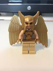 DC's Golden Eagle (Numbuh1Nerd) Tags: lego dc superheroes minifigures purist hawkman hawkgirl hawkwoman