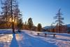 A winter's day in the mountains.. (milance1965) Tags: canon 5dmk2 landschaft österreich kärnten hochriendl berg gipfel schnee sonne sonnenuntergang tag natur wald canon35mmf2