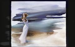 en la playa (skizo39) Tags: woman collage layers art digitalprocessing digitalart digitalpainting photomanipulation colors colorful graphical design creation artistic