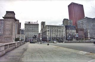 Chicago Illinois - Congress Hotel - The Auditorium - Fine Arts Building