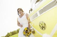 I got sunshine. (scrimmy) Tags: baxterpark date events people places wedding weddingphotography weddingdress bride volkswagon